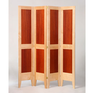 Custom Made Wooden Folding Screen