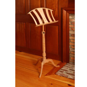 Hand Crafted Wood Music Stand